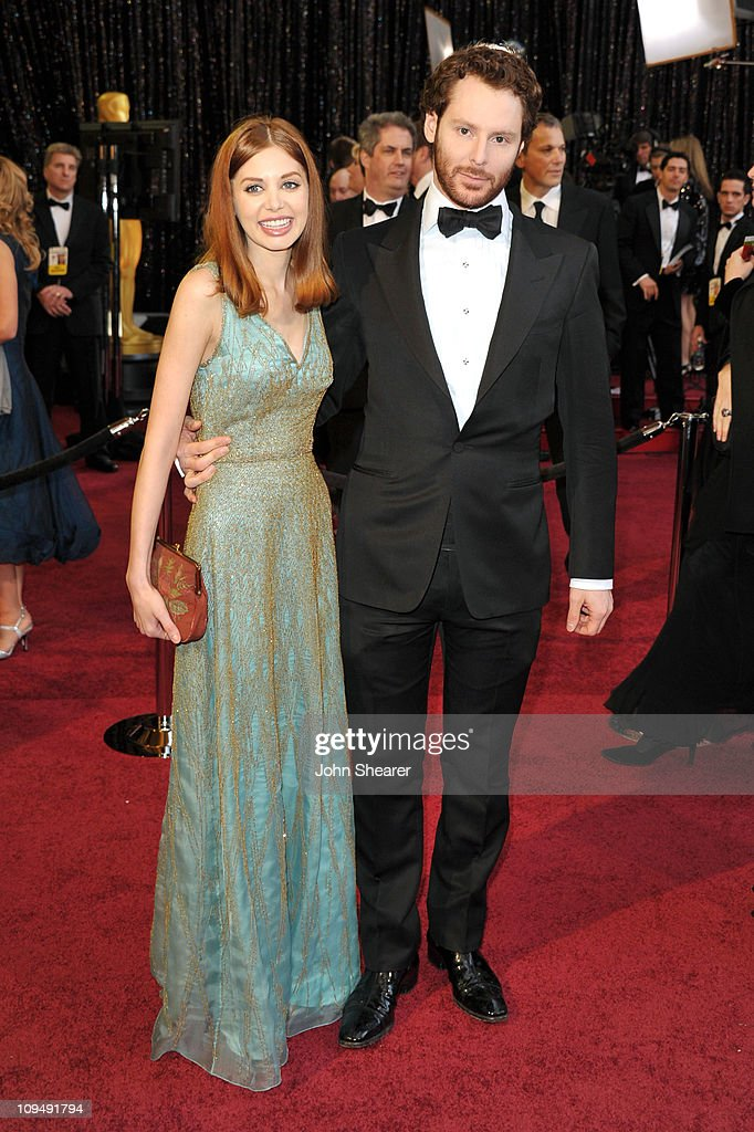 Sean Parker and guest arrive at the 83rd Annual Academy Awards held at the Kodak Theatre on February 27, 2011 in Hollywood, California.