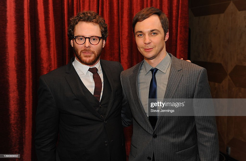 Sean Parker and <a gi-track='captionPersonalityLinkClicked' href=/galleries/search?phrase=Jim+Parsons&family=editorial&specificpeople=2480791 ng-click='$event.stopPropagation()'>Jim Parsons</a> (L-R) attend the 3rd Annual TechFellow Awards at SF MOMA on February 22, 2012 in San Francisco, California.