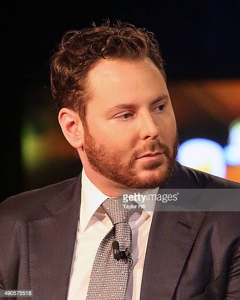 Sean Parker attends the 2015 Clinton Global Initiative Annual Meeting at Sheraton Times Square on September 29 2015 in New York City