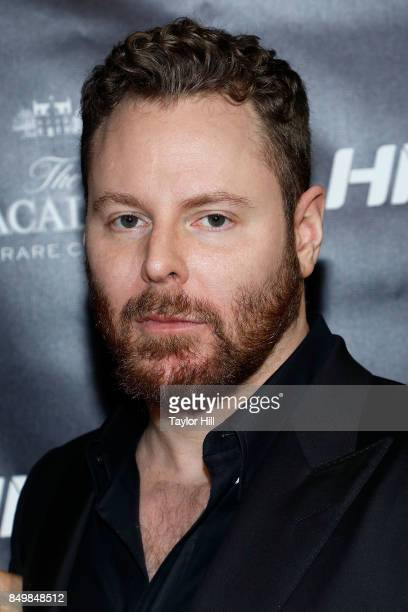 Sean Parker attends the Forbes Media Centennial Celebration at Pier 60 on September 19 2017 in New York City