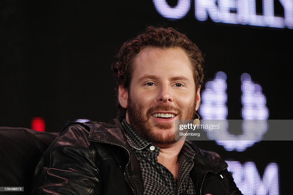 Sean Parker, co-founder of Napster Inc. and managing partner of the Founders Fund, speaks at the Web 2.0 Summit in San Francisco, California, U.S., on Monday, Oct. 17, 2011. The conference brings together 1,000 senior executives entertainment, and the Internet. Photographer: Tony Avelar/Bloomberg via Getty Images