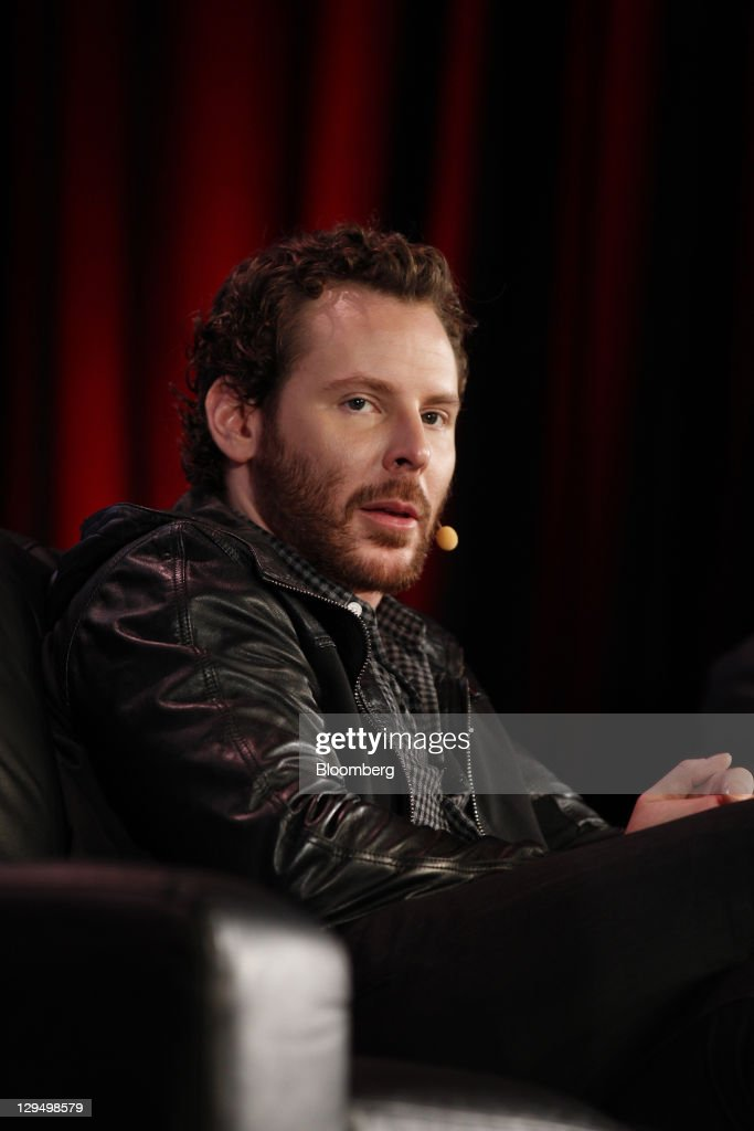 Sean Parker, co-founder of Napster Inc. and managing partner of the Founders Fund, attends the Web 2.0 Summit in San Francisco, California, U.S., on Monday, Oct. 17, 2011. The conference brings together 1,000 senior executives entertainment, and the Internet. Photographer: Tony Avelar/Bloomberg via Getty Images