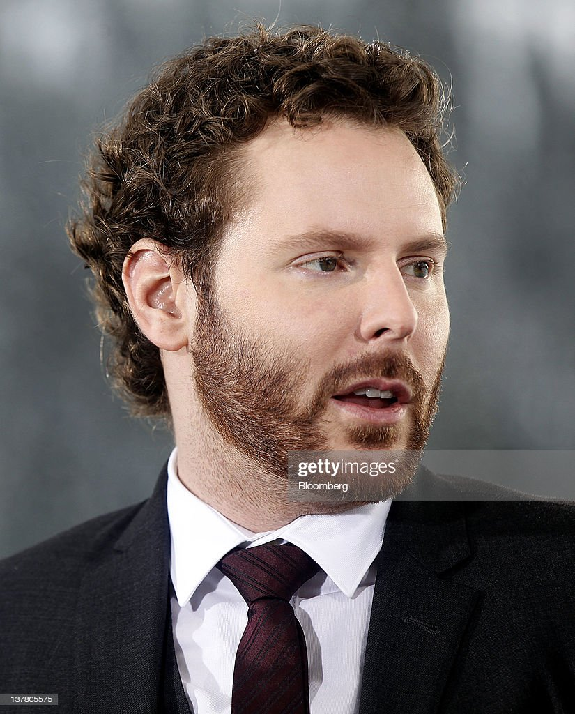 Sean Parker, co-founder of Napster Inc. and managing partner of the Founders Fund, speaks during a television interview on day three of the World Economic Forum (WEF) in Davos, Switzerland, on Friday, Jan. 27, 2012. The 42nd annual meeting of the World Economic Forum will be attended by about 2,600 political, business and financial leaders at the five-day conference. Photographer: Simon Dawson/Bloomberg via Getty Images