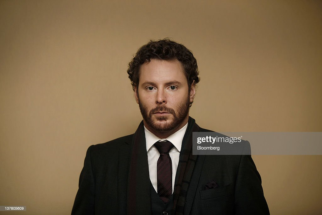 Sean Parker, co-founder of Napster Inc. and managing partner of the Founders Fund, stands for a photograph following a television interview on day three of the World Economic Forum (WEF) in Davos, Switzerland, on Friday, Jan. 27, 2012. The 42nd annual meeting of the World Economic Forum will be attended by about 2,600 political, business and financial leaders at the five-day conference. Photographer: Simon Dawson/Bloomberg via Getty Images