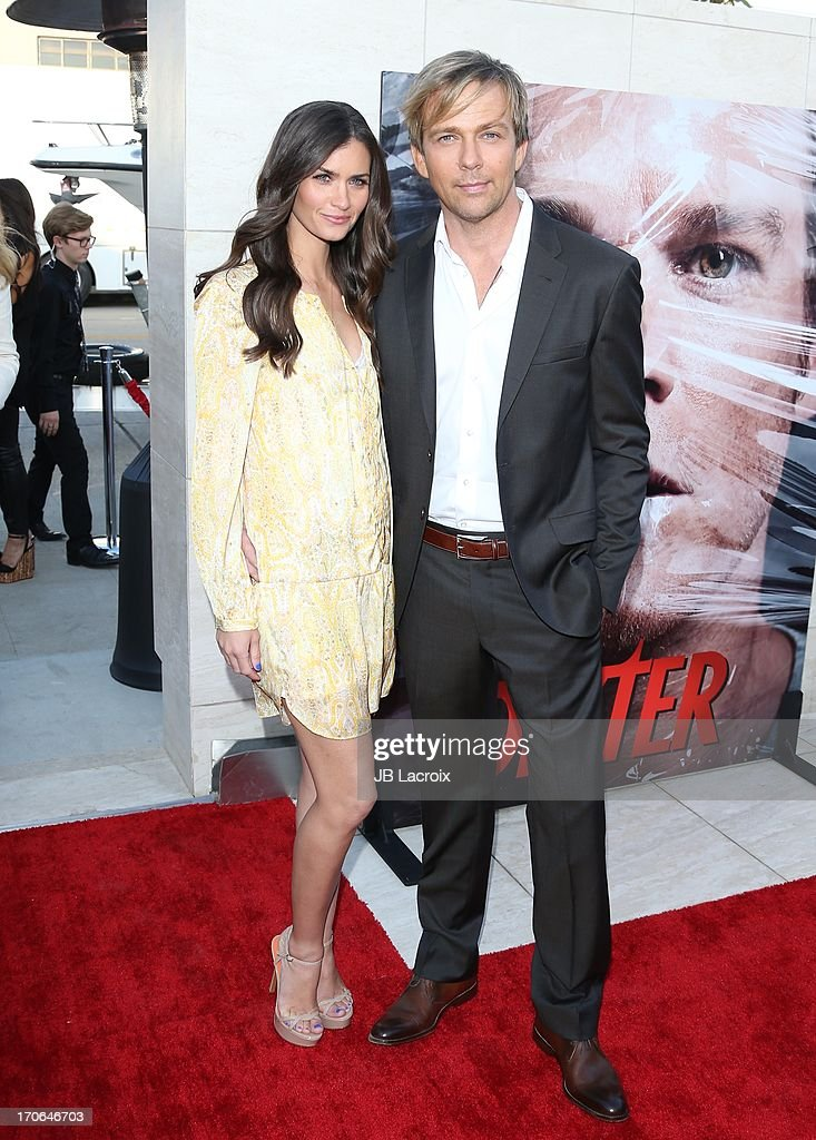 Sean Patrick Flannery (R) attends the 'Dexter' Series Finale Season Premiere Party at Milk Studios on June 15, 2013 in Hollywood, California.