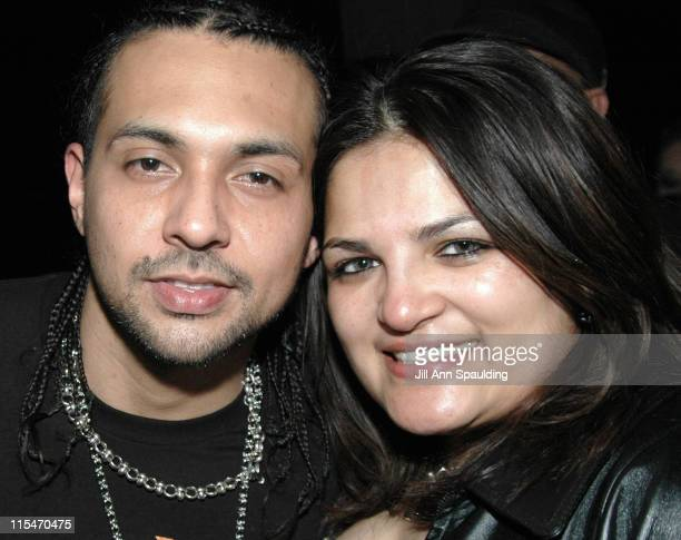Sean Paul and Priti Patel during 2005 Radio Music Awards After Party by Jaime Pressly Inside at Tao Nightclub in Las Vegas Nevada United States