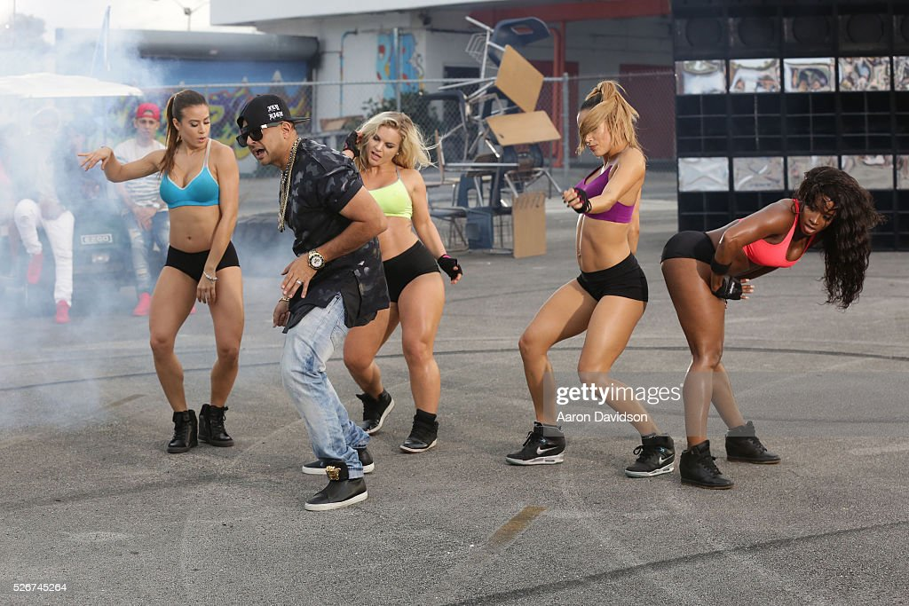 Sean Paul attends Borgeous and Sean Paul 'Ride It' video shoot on April 30, 2016 in Miami, Florida.