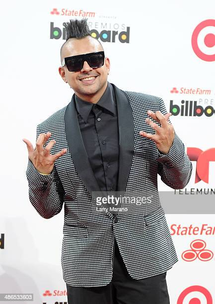 Sean Paul attends the 2014 Billboard Latin Music Awards at Bank United Center on April 24 2014 in Miami Florida