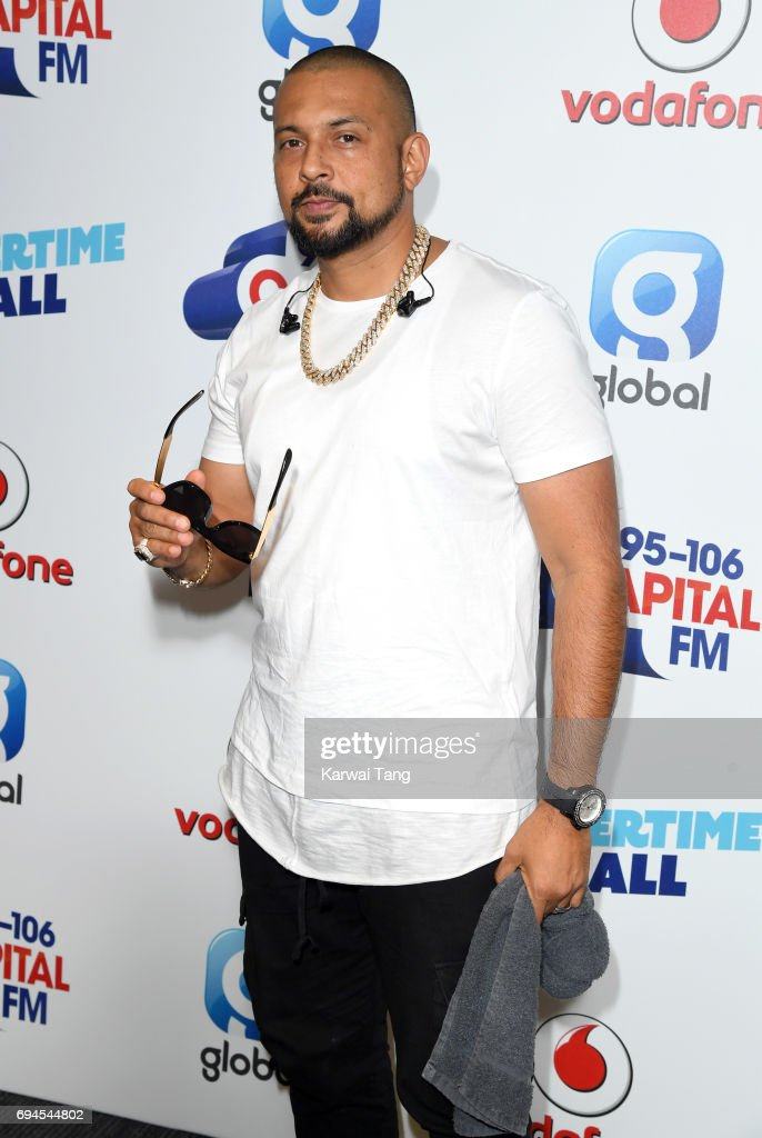 Sean Paul attends the Capital Summertime Ball at Wembley Stadium on June 10, 2017 in London, United Kingdom.