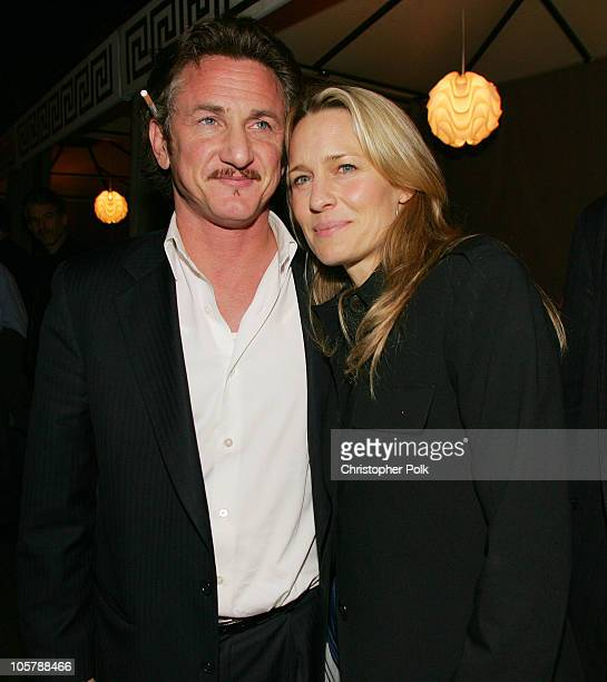 Sean Penn and Robin Wright Penn during Livestyle's AFI Premiere Lounge 2005 Screening of 'Sorry Haters' After Party Hosted by Bacardi Svedka Vodka...