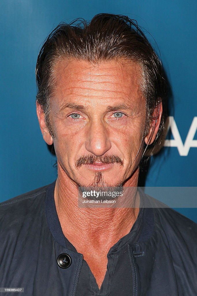 Sean Penn attends the 2nd Annual Sean Penn & Friends Help Haiti Home Presented By Giorgio Armani - A Gala To Benefit J/P HRO - Arrivals at Montage Beverly Hills on January 12, 2013 in Beverly Hills, California.