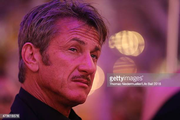 Sean Penn attends the AIDS Solidarity Gala at Hofburg Vienna on May 16 2015 in Vienna Austria