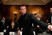 Sean Penn attends the Senate Foreign Relations Committee hearing on 'After the Earthquake Empowering Haiti to Rebuild Better' at Senate Dirksen...