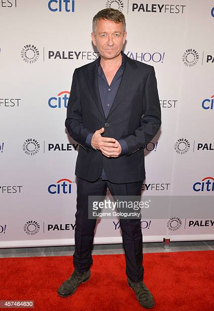 Sean Pertwee attends the GOTHAM Panel At PaleyFest NY on October 18 2014 in New York City