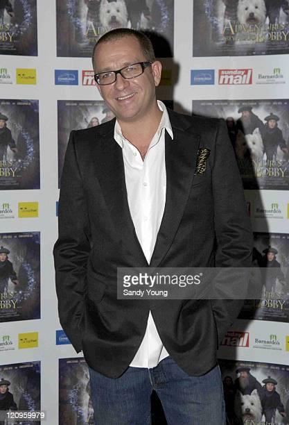 Sean Pertwee during 'Greyfriars Bobby' UK Gala Premiere at Vue Omni Centre in Edinburgh Great Britain