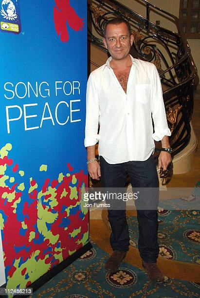 Sean Pertwee during 'Song For Peace' Performance in London