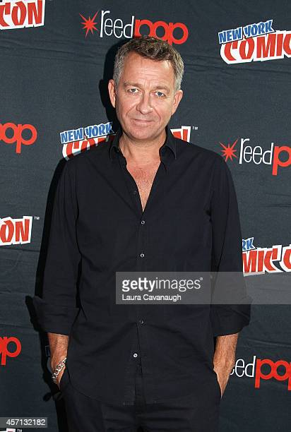 Sean Pertwee in the Press Room for 'Gotham' at 2014 New York Comic Con Day 4 at Jacob Javitz Center on October 12 2014 in New York City