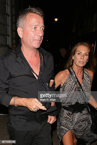 Sean Pertwee is seen at Lou Lou's club for Dave Gardners birthday party on September 16 2016 in London England