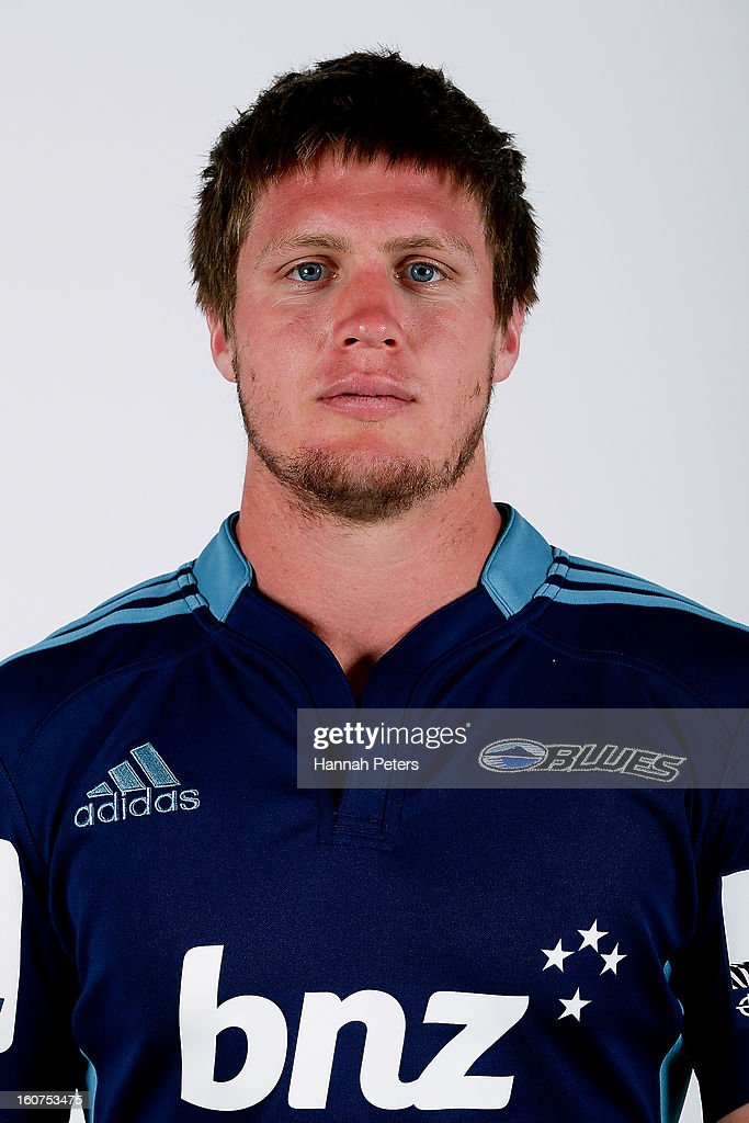 Sean Polwart poses for a portrait during the 2013 Blues headshots session on February 5, 2013 in Auckland, New Zealand.
