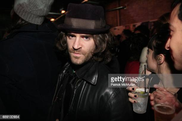 Sean Ramsay attends RADAR ENTERTAINMENT THE LAST MAGAZINE Toast Fashion Week at Studio 385 Broadway on February 20 2009 in New York City