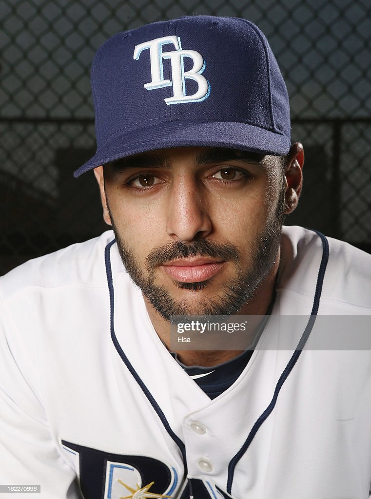 <a gi-track='captionPersonalityLinkClicked' href=/galleries/search?phrase=Sean+Rodriguez&family=editorial&specificpeople=4171805 ng-click='$event.stopPropagation()'>Sean Rodriguez</a> #1 of the Tampa Bay Rays poses for a portrait on February 21, 2013 Charlotte County Sports Park in Port Charlotte, Florida.