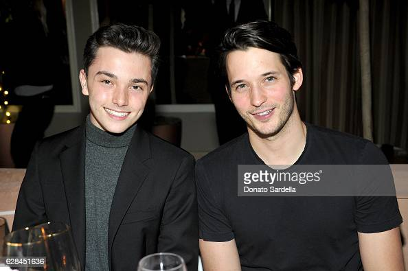 Sean Sheridan and Nick Brown attend an Intimate Dinner hosted by Derek Blasberg Sandro Founder Artistic Director Evelyne Chetrite and Vanity Fair at...