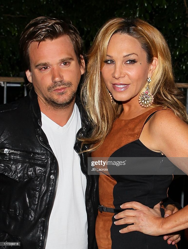 <a gi-track='captionPersonalityLinkClicked' href=/galleries/search?phrase=Sean+Stewart+-+Son+of+Rod+Stewart&family=editorial&specificpeople=243026 ng-click='$event.stopPropagation()'>Sean Stewart</a> and Adrienne Maloof attend the Bobs From Skechers 'Summer Soiree' Hosted By Brand Ambassador Brooke Burke-Charvet held at SkyBar at the Mondrian Los Angeles on August 21, 2013 in West Hollywood, California.