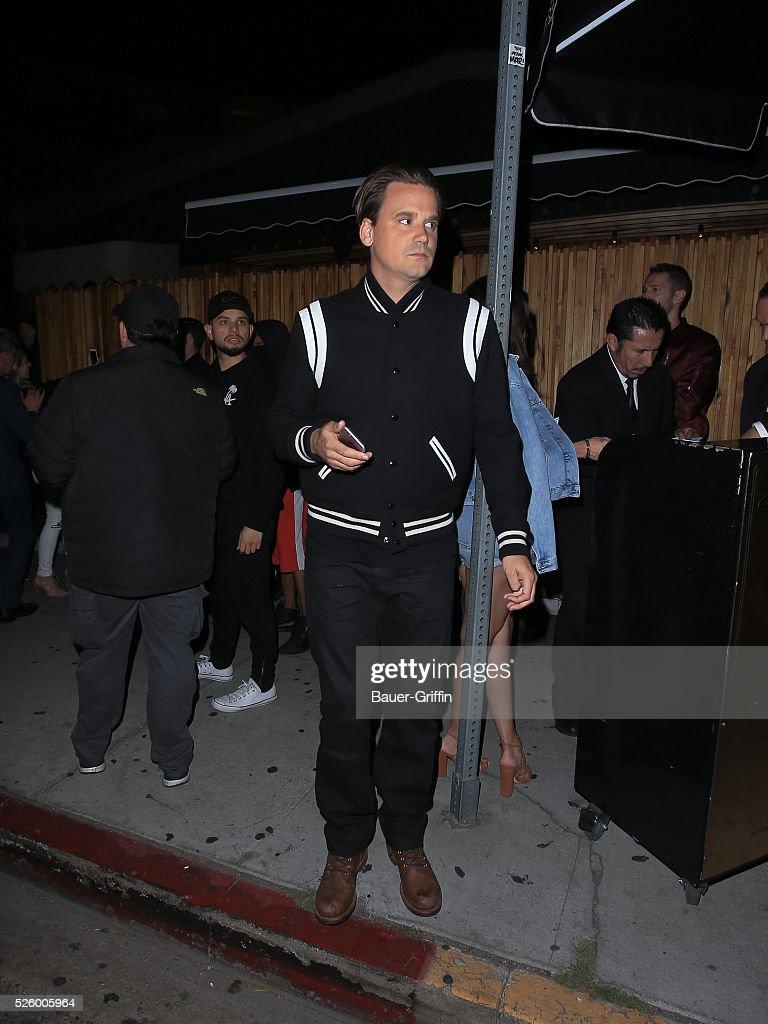 Sean Stewart is seen on April 29, 2016 in Los Angeles, California.