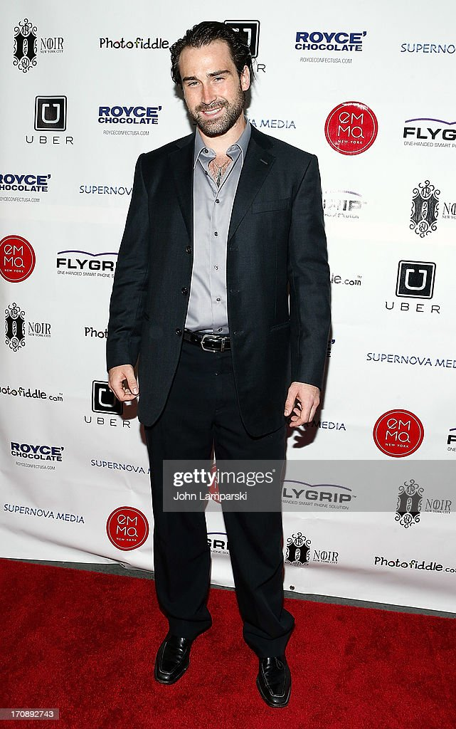 Sean Stone attends The Inaugural St. Jude Spring Social at Noir NYC on June 19, 2013 in New York City.