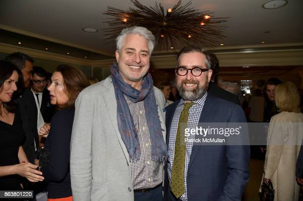 Sean Sullivan and Clinton Smith attend the launch of Second Bloom Cathy Graham's Art of the Table hosted by Joanna Coles and Clinton Smith at...