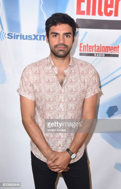 Sean Teale attends SiriusXM's Entertainment Weekly Radio Channel Broadcasts From Comic Con 2017 at Hard Rock Hotel San Diego on July 22 2017 in San...