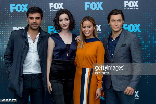 Sean Teale Emma Dumont Jamie Chung and Blair Redford attend the 2017 FOX Upfront at Wollman Rink Central Park on May 15 2017 in New York City