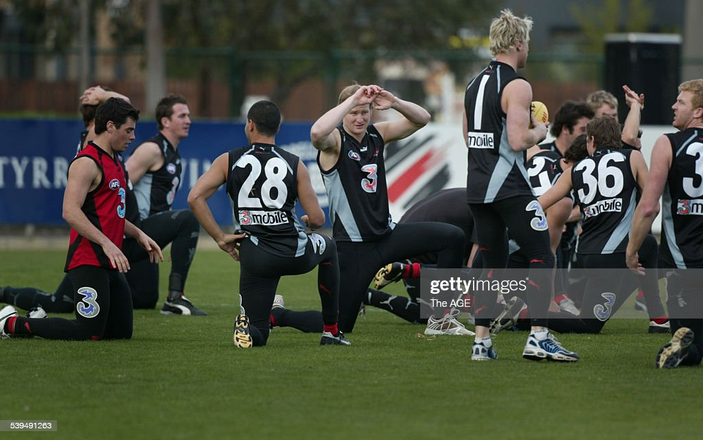 Sean Wellman trains at Windy Hill THE AGE SPORT Picture by MICHAEL CLAYTONJONES