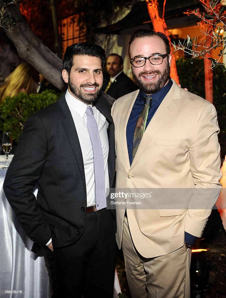 Sean Yashar and Oliver Furth attend LCDQ La Cienega Design Quarter Legends 2013 Time Capsule Gala at Therien & Co on May 8, 2013 in Los Angeles, California.