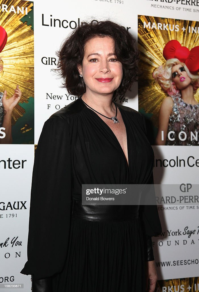 Sean Young attends Markus + Indrani's 'ICONS' Launch Event and VIP Gala at Alice Tully Hall, Lincoln Center on December 11, 2012 in New York City.