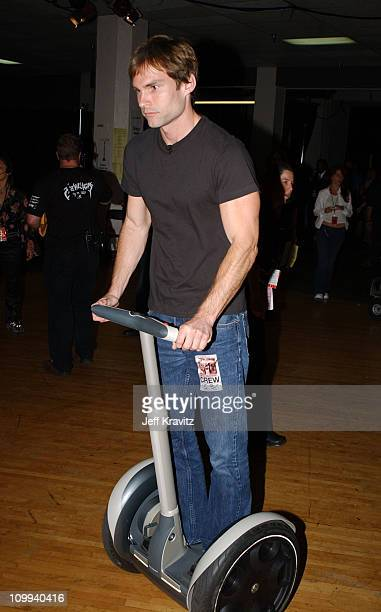 Seann William Scott during 2003 MTV Movie Awards Backstage and Audience at The Shrine Auditorium in Los Angeles California United States
