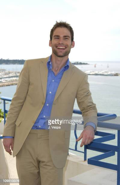 Seann William Scott during Cannes 2002 'Bulletproof Monk' Photo Call at Chrysler Million Dollar Film Festival Suite at Martinez Hotel in Cannes France