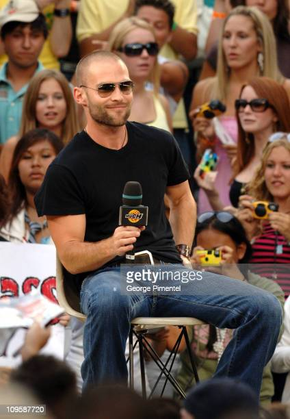 Seann William Scott during The Cast of 'The Dukes of Hazzard' Visit MuchMusic Studios July 31 2005 at MuchMusic Studios in Toronto Canada