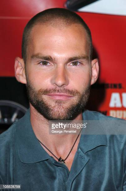 Seann William Scott during 'The Dukes of Hazzard' Toronto Press Conference at Windsor Arms Hotel in Toronto Ontario Canada