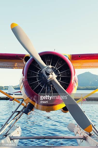 Seaplane on Dock