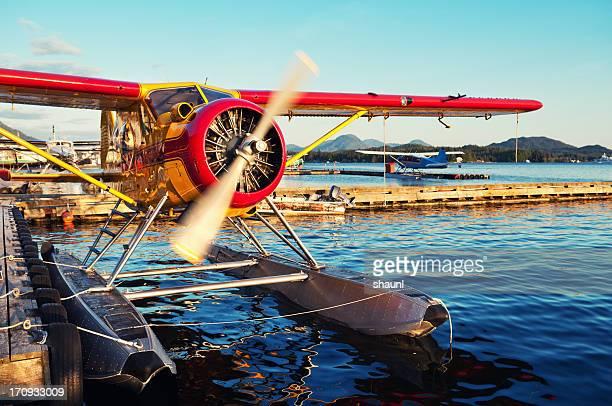 Seaplane Warming Up