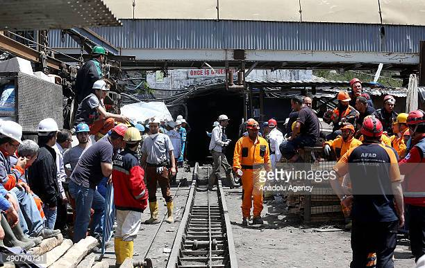 Search and rescue works keep going on in Soma district Manisa on 15 May 2014 It is informed that with the change of airflow's way it is tried to...