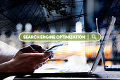 Search Engine Optimization (SEO) Concept