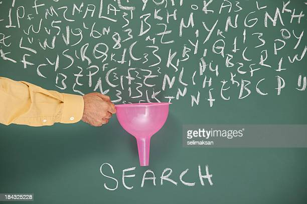 Searching And Filtering Words On Blackboard Via Funnel