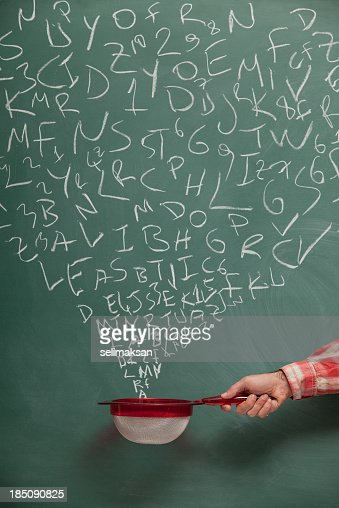 Searching And Filtering Words On Blackboard Via Strainer