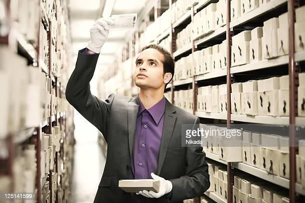 Die Suche nach Dateien in Archiv