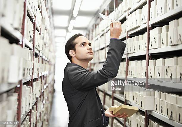 searching files in a archive