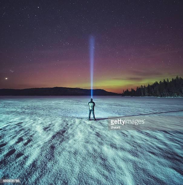 Le ciel du Nord à la recherche
