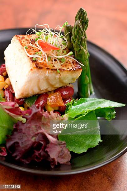 Seared Citrus Halibut