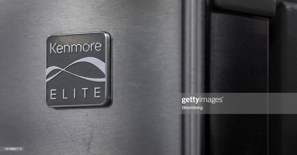 A Sears Brand LLC Kenmore logo is displayed on a refrigerator at a store in Jersey City, New Jersey, U.S., on Tuesday, Jan. 24, 2012. The U.S Census Bureau is scheduled to release durable goods data on Jan. 26. Photographer: Victor J. Blue/Bloomberg via Getty Images